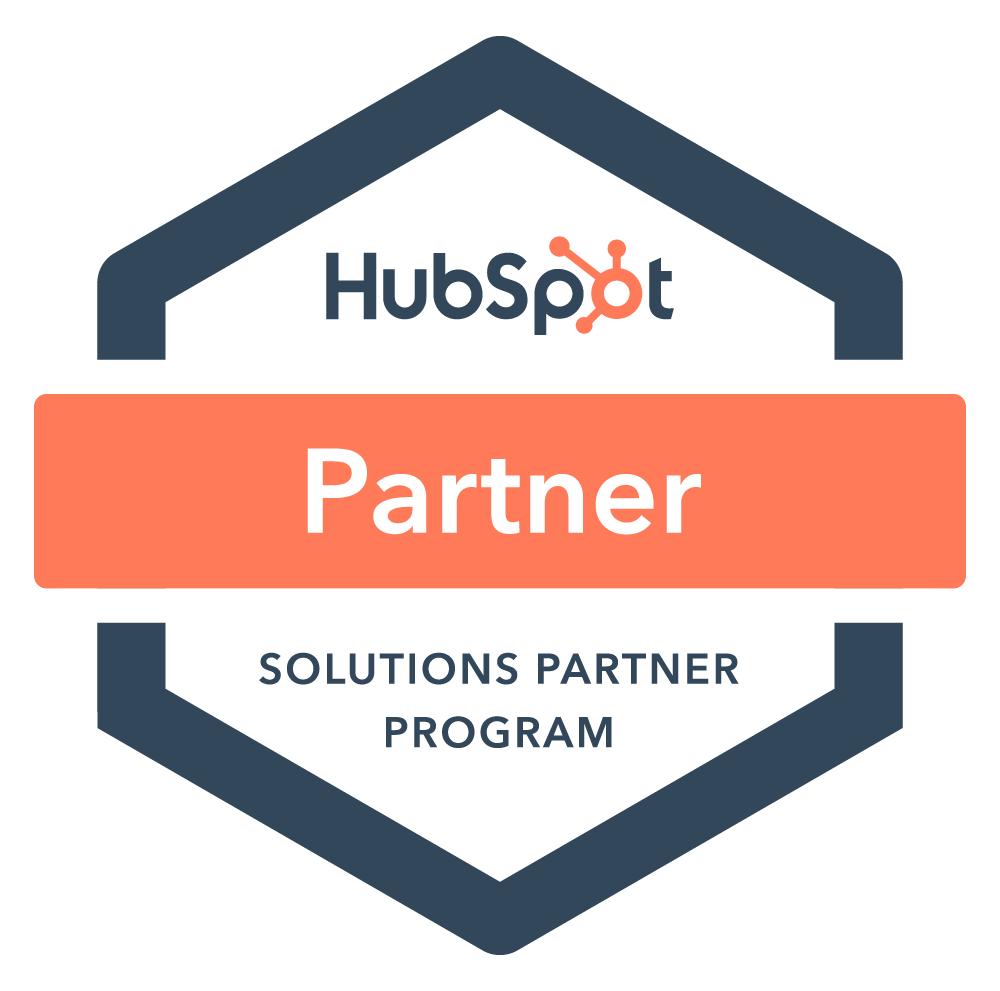 HubSpot Solutions Partner Program badge